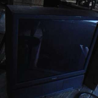 Older flat screen