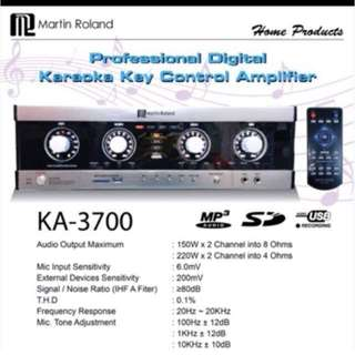 Martin Roland KA-3700 with Bluetooth new model
