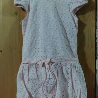 Crib Couture Baby Pink Dress (Bubble Skirt) - 6mos