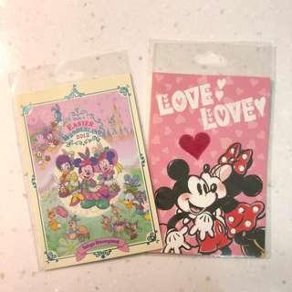 東京迪士尼明信片