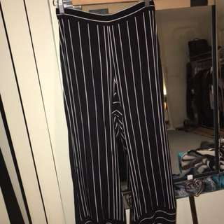 Stripped Bardot pants