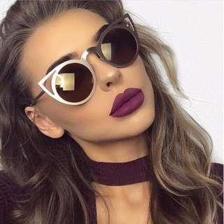 Frame Mirror Sunglasses
