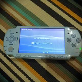 PSP Slim - Felicia Blue