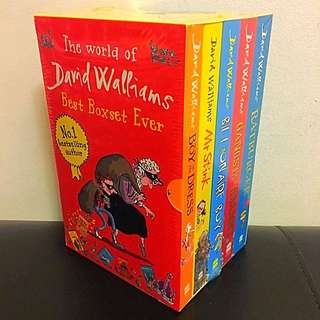 David Walliams Collection (5 Books)