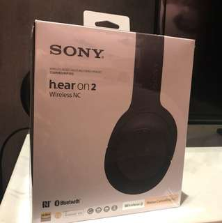 Sony WhH900N h.ear on 2 wireless NC
