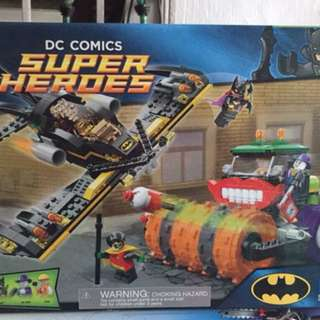 Lego Joker Steam Roller
