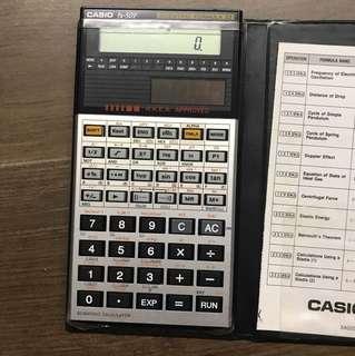 CASIO  fx-50F 太陽能計數機