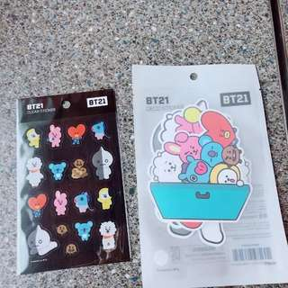 Preorder BTS BT21 Sticker