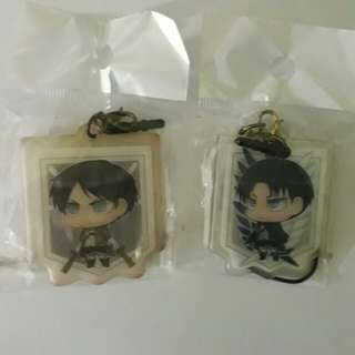 Eren and Levi Set 2 Way strap