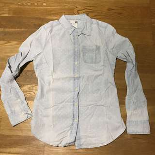 Levi's 復古水洗點點牛仔襯衫