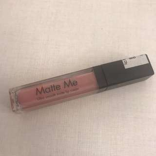 Sleek Matte Me Ultra Smooth Lip Cream in Petal
