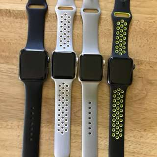 Apple Watch Series 2 Aluminum Case 38mm/42mm Various Colors