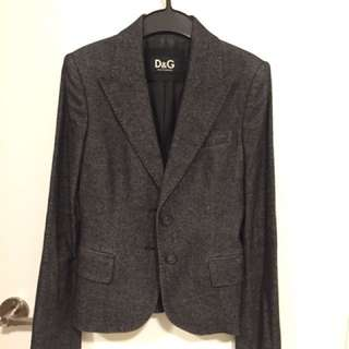 D&G wool mixed Jacket