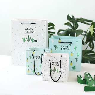 [NEW] About Cactus Fancy Paper Bag