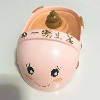 Toilet bowl ornament from Taiwan