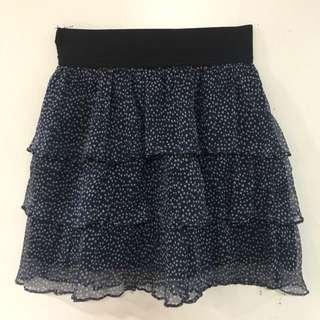 Zara Polka Print Skirt