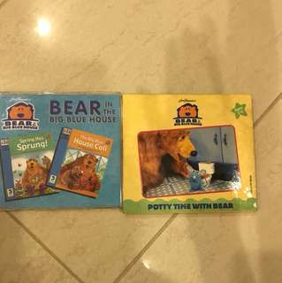 bear in the big blue house vcd