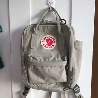 Kanken Mini Backpack Putty 淺灰色 背囊