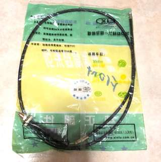 Front dumb brake cable