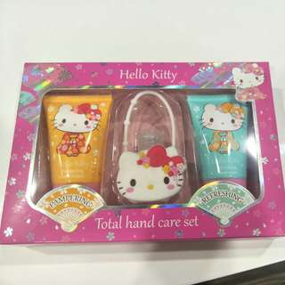 Hello kitty total hand care set