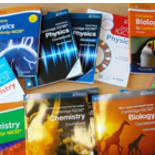 IGCSE PAST YEAR PAPERS FOR SALE!! (READ DESCP FOR DETAILS)