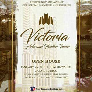 Victoria Arts And Theater Open House Special Discount Awaits You!