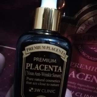 Placenta anti-wrinkle serum