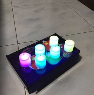 LED multi Color candle