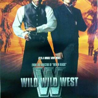 """Wild Wild West"" movie poster (Original)"