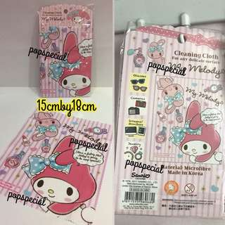 Last Pcs Left My Melody Spectacle Cleaning Cloth