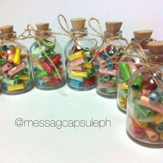 30pcs Message Capsules