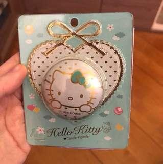 Etude House 爽身粉味 香水膏 Hello Kitty限定版 Tender Power Cake Fragrance