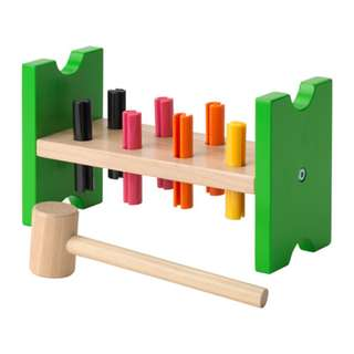 [IKEA] MULA Toy Hammering Block / Multicolor