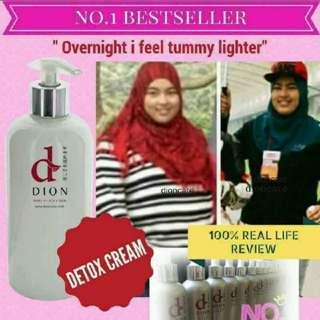 Detoxing cream