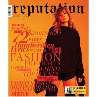 INSTOCK TAYLOR SWIFT REPUTATION MAGAZINE
