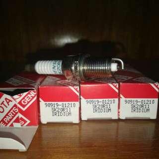 Iridium spark plugs Toyota 90919-01210