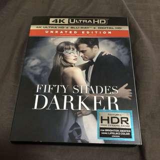 Fifty Shades Darker 4k ultra hd + bluray