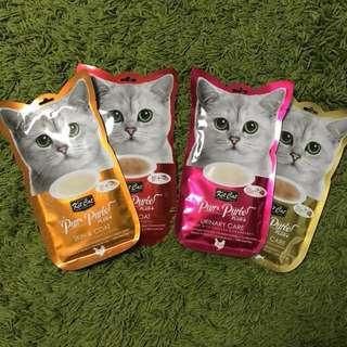Kit Cat Purée plus Urinary / Skin + Coat care