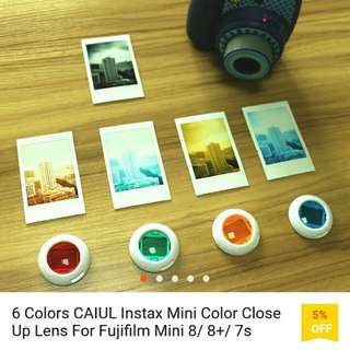 [LOOKING FOR] Instax Mini 6 Coloured Lens