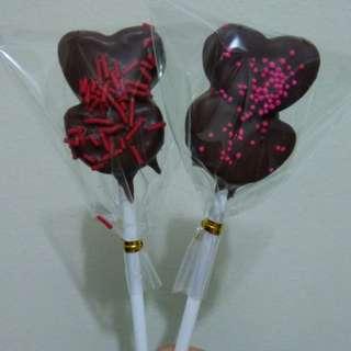 Heart Mallow Pops