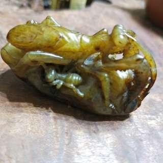 🚚 東海岸年糕玉 鏤空巧雕件( 螳螂螞蟻)