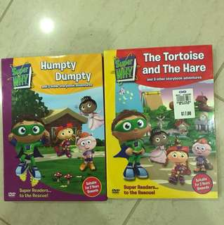 super why kids dvd