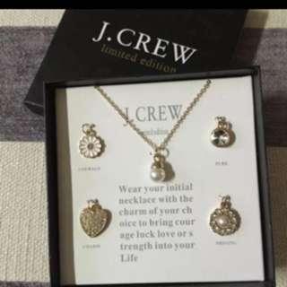 J.Crew 限量版頸鍊box set