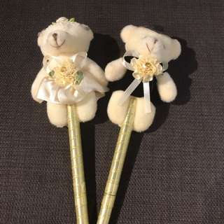 Wedding bear pens