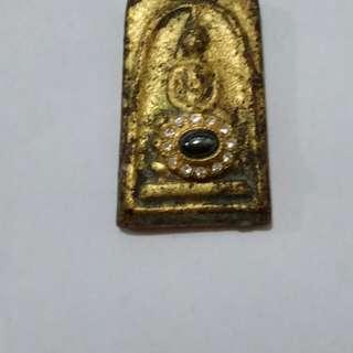 Thai Amulet Phra Somdej (lek lai)Wat Phra Keaw BE2411   int buyer only