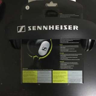 Sennheiser Closed Dynamic Headphone for Powerful Bass-Driven Stereo Sound