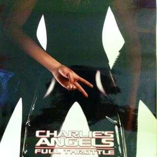 """Charlie's Angels- Full Throttle"" movie poster (Original)"