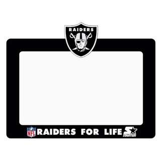 Road Tax Sticker Raiders NFL Starter