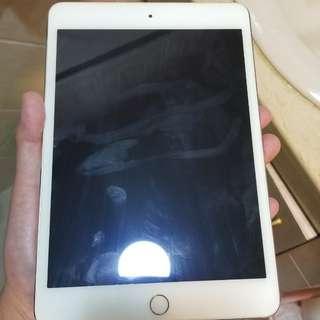 賣99%New ipad mini 4,128gb,wifi ,gold