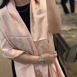 美國coach頸巾粉色